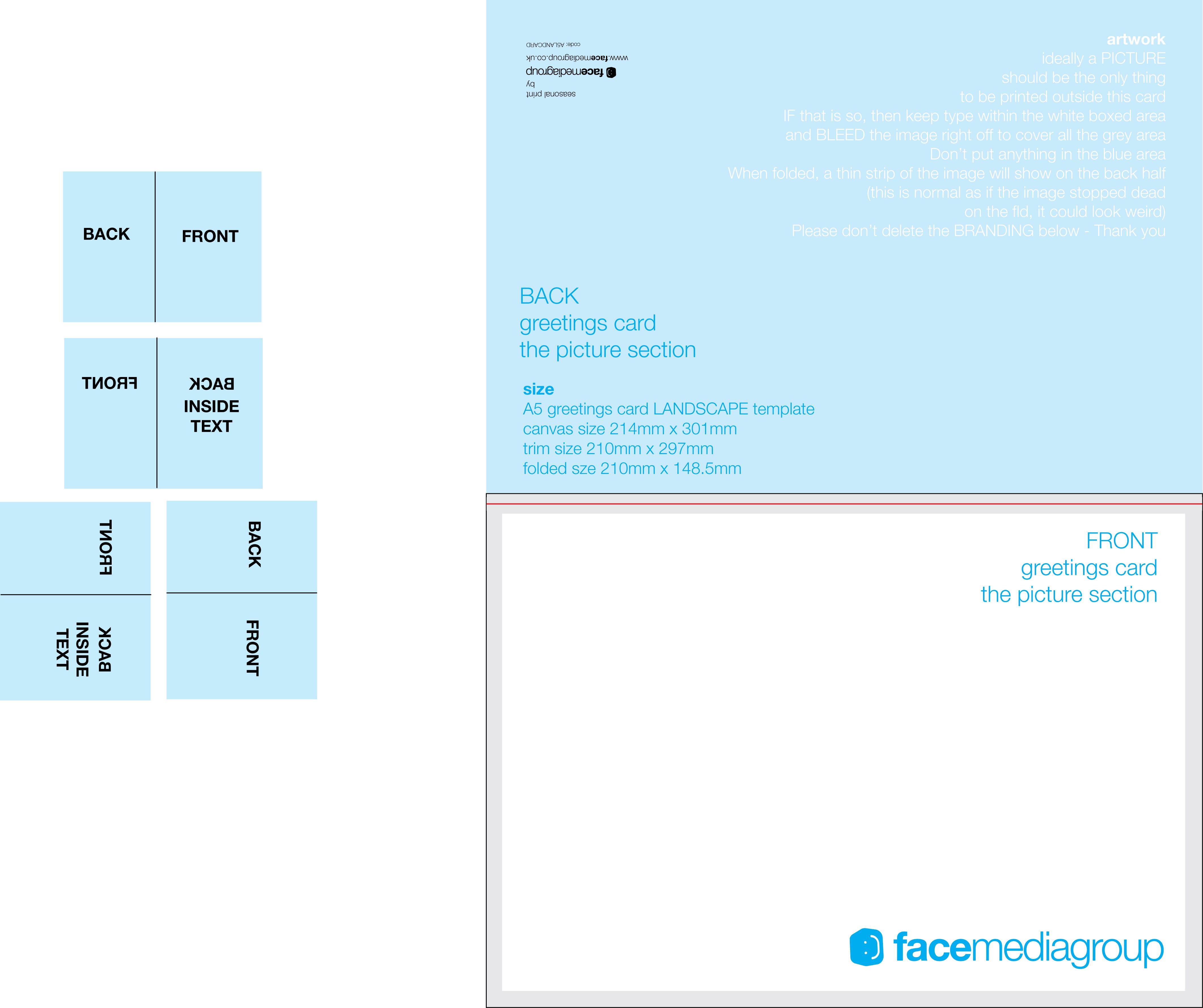 Blank Card Template Solarfm