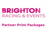 Partnership in Print packages for headline sponsors for Brighton Race Course and events