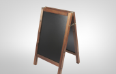 Add your own style and personal touch to your promotion and marketing with an A Frame chalkboard.