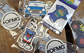 Personalised printed air fresheners for promotional give-aways