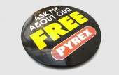Personalised button badges are a cheap and easy way to promote your message. Badges for bands, essential band merchandise.
