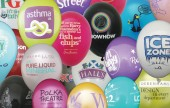 Personalised printed balloons for promotional give-aways