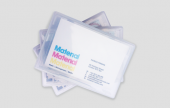 Business card holders - a selection of business card holders.