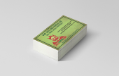 Like a mini flyer, these 'mass marketing' business cards are printed on a 300gsm silk, full colour to both sides, trimmed to 85mm x 55mm and the turnaround is 3 to 5 working days. Prices exclude VAT and carriage.