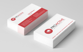 Laminated business cards. Available in 3 finishes, matt, velvet and gloss lamination, and 3 different thicknesses. 350gsm, 400gsm, 450gsm and 600gsm.