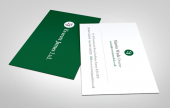 Recycled business cards are good for your business AND good for the environment.