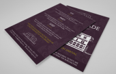 These flyers are our most popular. Printed on one or both sides, in full colour on 50% recycled 300gsm art board.