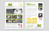 The A5 flyer is the most popular and successful size we produce.