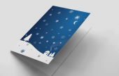 Make your Christmas cards extra special this year by printing cards with your own designs and messages.