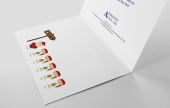 Spread seasonal cheers among your customers, colleagues and suppliers with your very own personalised Xmas Cards.