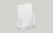 Clear acrylic leaflet dispensers for counter tops and reception areas. A clear and crisp solution to keep your leaflets tidy.