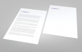 Continuation sheets that match our standard letterhead range to ensure consistency of style and quality for all of your documents.