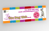 Standard PVC banners for versatile usage.