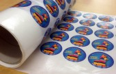 Our range of full colour stickers, printed on variety of stocks and shapes. On a roll, or supplied as singles.