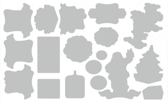 A4 a5 dl and a6 custom printed kiss cut sticker sheets