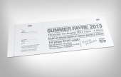 Printed Raffle Tickets - Simple, Versatile and Classic