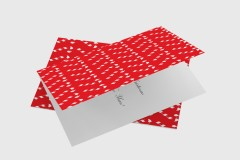 Candy Sticks - FREE Christmas Card Template