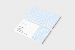 FREE Business Stationery Templates | Blue Pattern