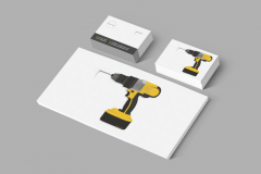 FREE Business Stationery Design Templates for Construction