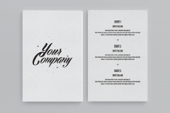 FREE Flyer Template with a Modern Design
