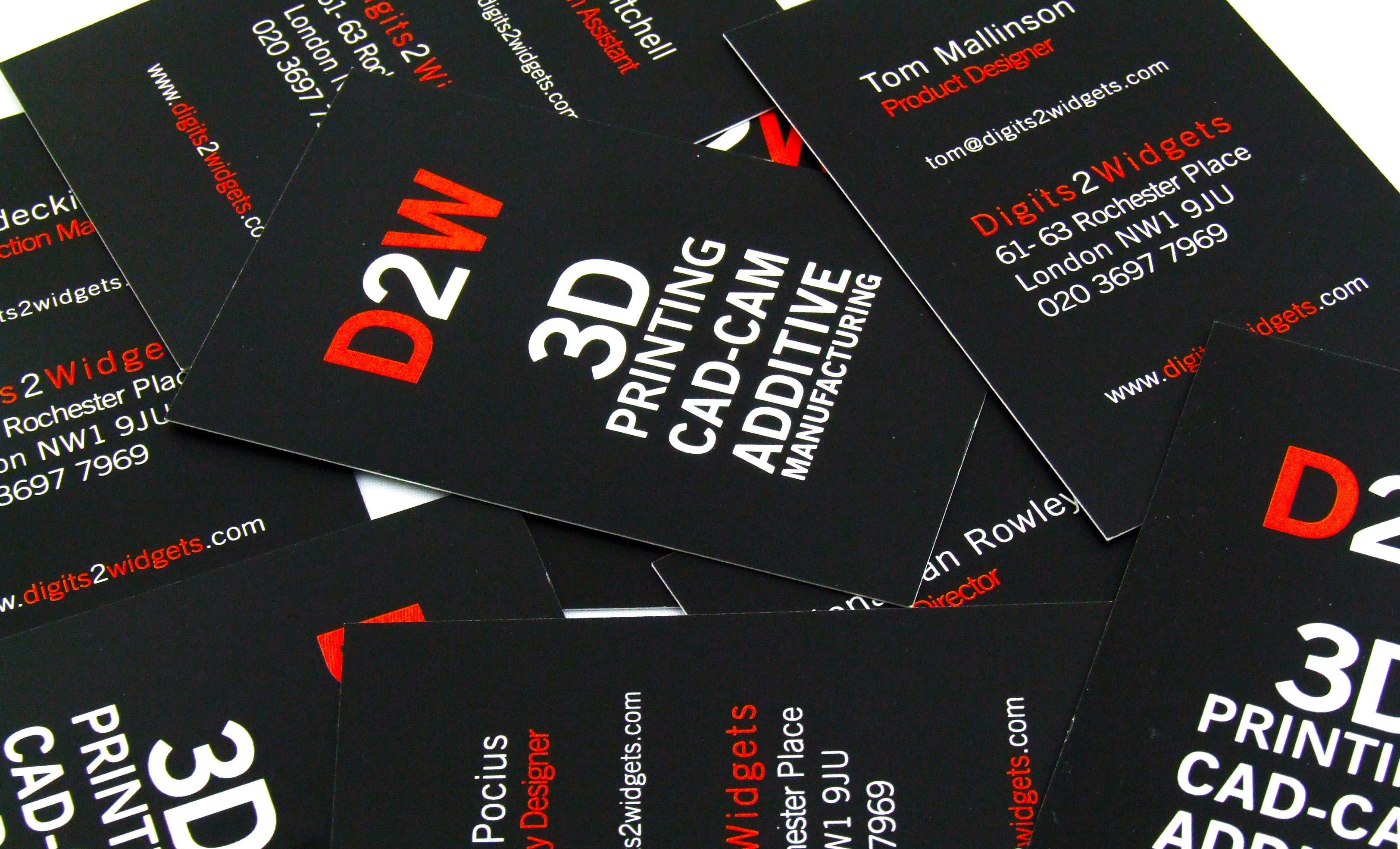 UK Printed Business Cards | Face Media Group