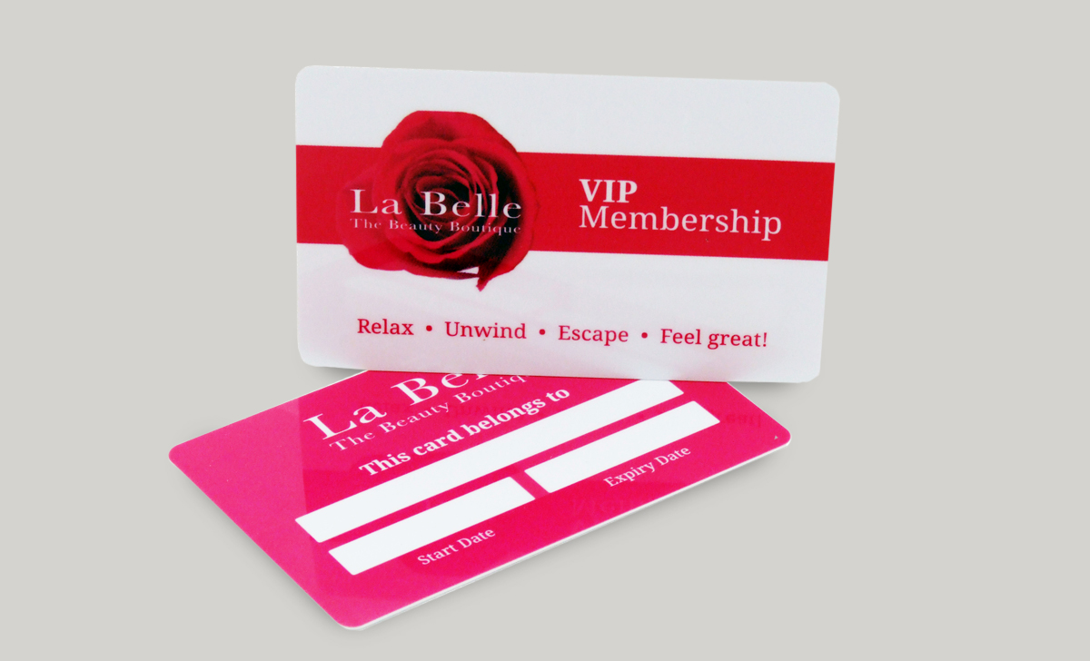Rating for Full Colour Plastic Business Cards