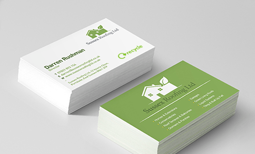 Eco friendly recycled business cards face media group reheart Image collections