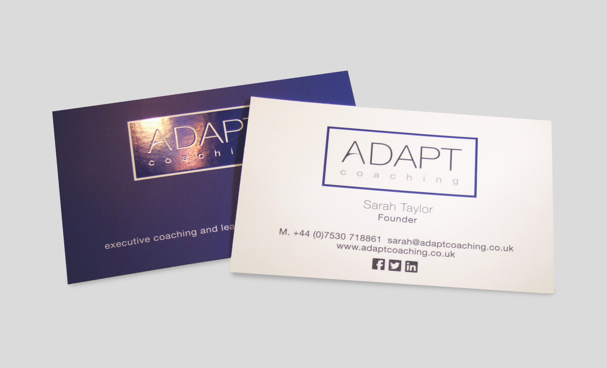 Spot UV Business Cards | Face Media Group