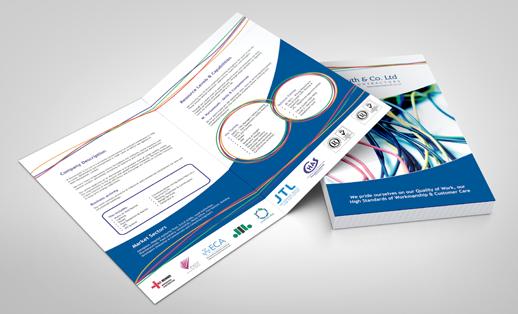 Folded Leaflet Printing A4 A5 A6 Printed Leaflets Uk