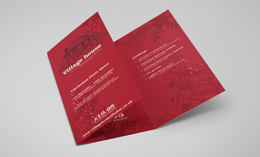 Rating for Folded leaflet design