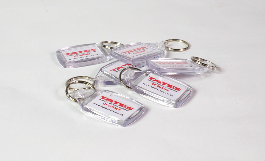 Rating for Printed Key Rings