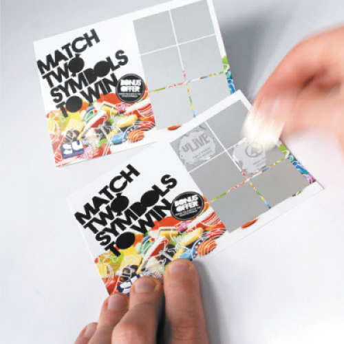 Rating for Personalised Scratch Cards