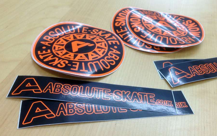 Rating for Screen printed stickers