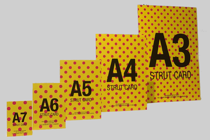Rating for Strut Cards And Strut Boards