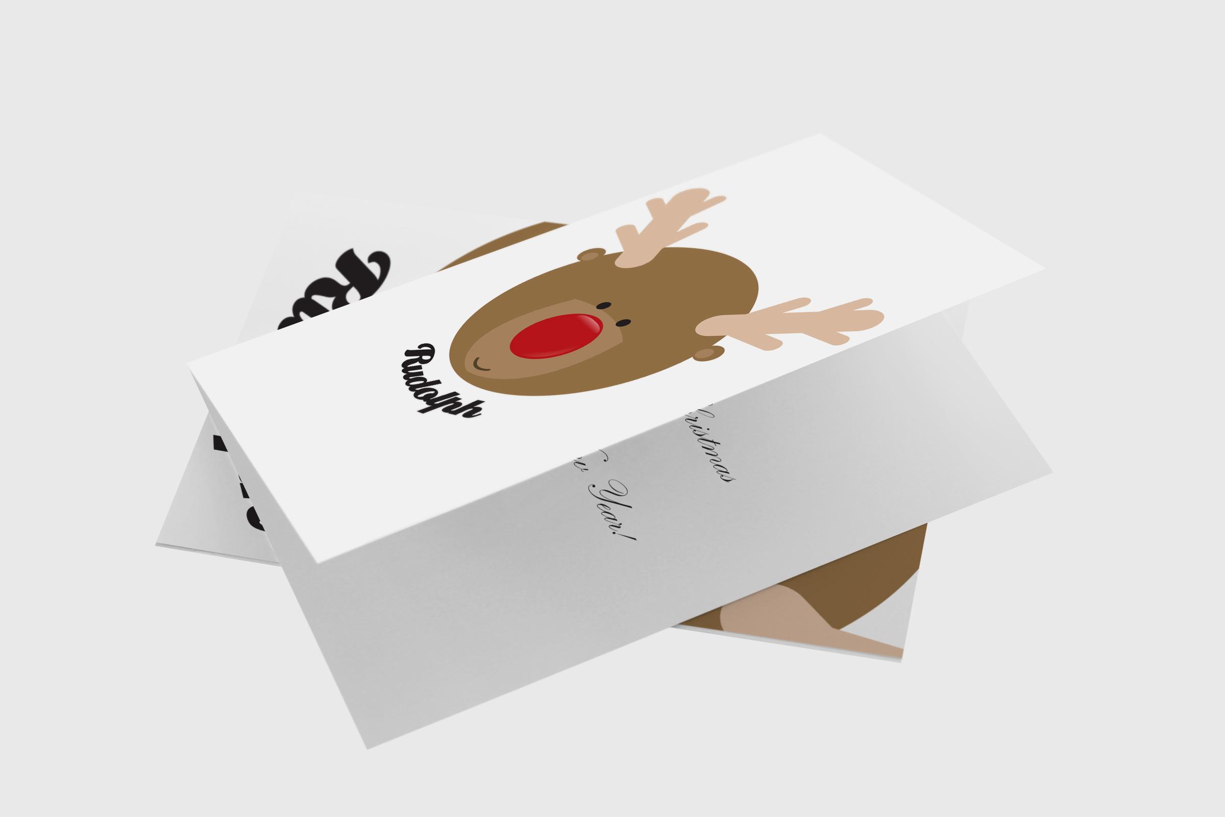 Rudolph head template