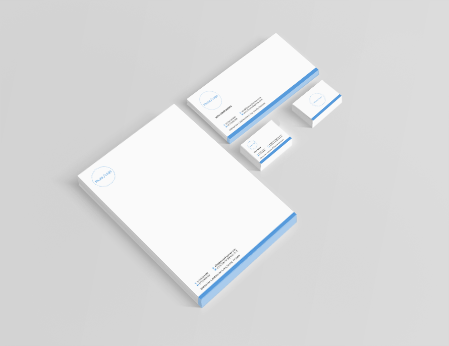 FREE Business Stationery Design | Corporate Feel | Face Media Group