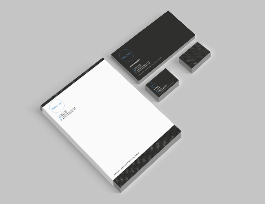 Free business card letterhead and compliment slip templates free business card letterhead and compliment slip templates business stationery templates face media group reheart Gallery